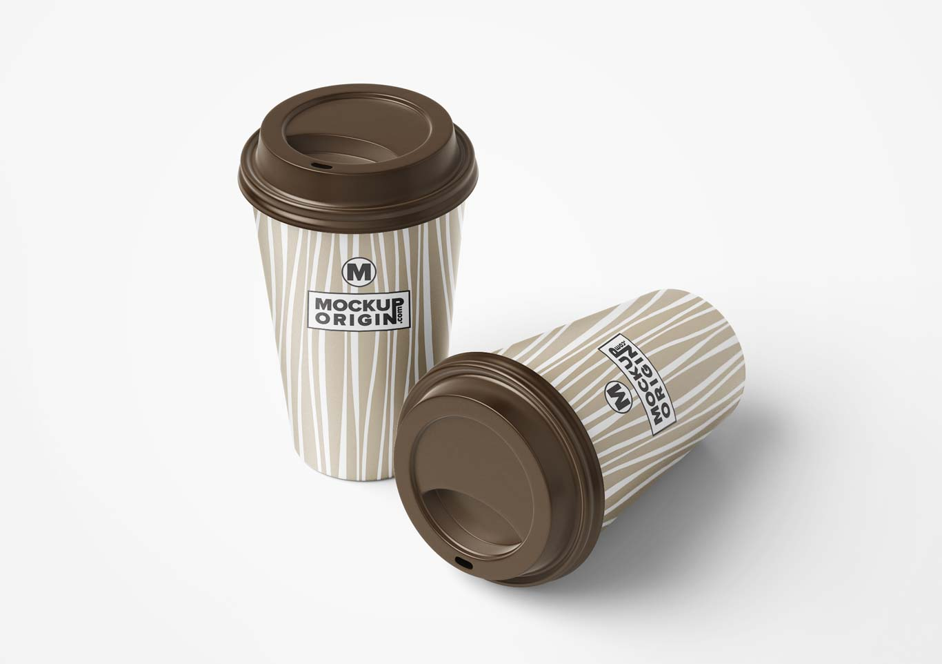 Paper Coffee Cup Mockup Free